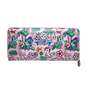 tokidoki long purse floral pink urban attitude