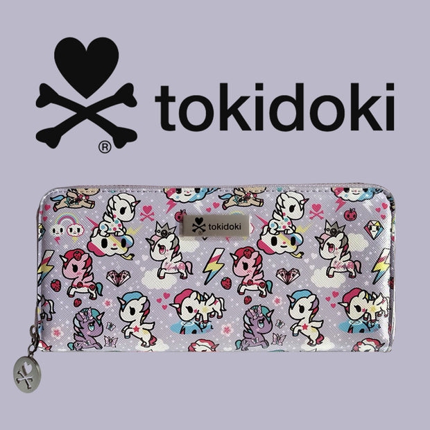 tokidoki long purse pastel purple background urban attitude