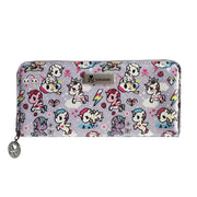 tokidoki long purse pastel purple urban attitude