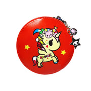 tokidoki round coin purse red unicorno urban attitude