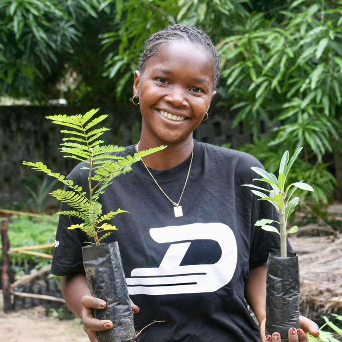 For every AHO pack sold one tree is planted!