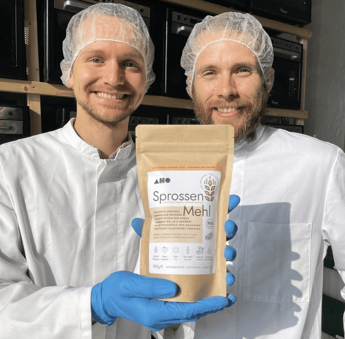 Sprouted-spelt flour - a superfood made from sprouted ancient spelt