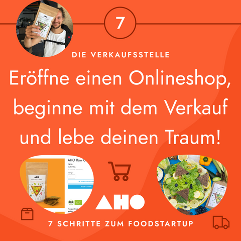 onlineshop shopify aho cracker startup