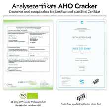 Load image into Gallery viewer, Cracker Probierpaket Produkt-Bundles AHO.BIO GmbH