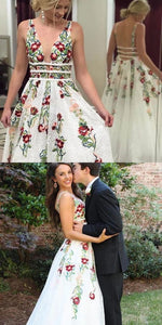 Sexy Backlesss Prom Dress with Chapel Trailing