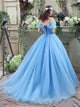 Sweep Train Short Sleeves Prom Dresses