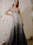 Sparkly A Line Backless Sequin Silver Prom Dresses