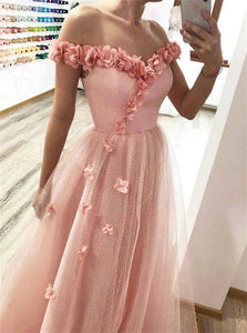 Floor Length Sleeveless Appliques Prom Dresses