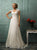 Lace Cap Sleeves Scoop A Line Wedding Dresses
