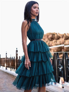 Ankle Length Green Homecoming Dresses