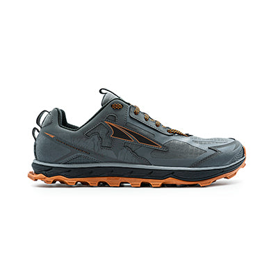 MEN'S LONE PEAK 4.5 - GREY ORANGE