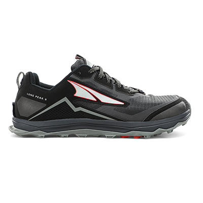 MEN'S LONE PEAK 5 - DARK SLATE/RED