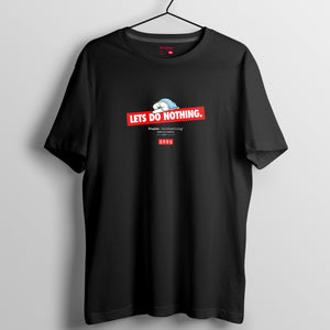 Mr.Donothing Let's Donothing 系列 T-shirt 14(黑/白/灰)