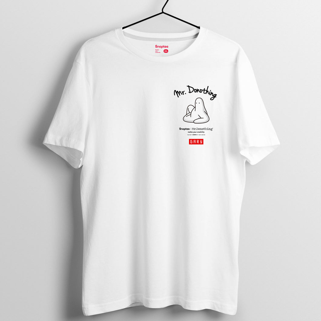 Mr.Donothing Let's Donothing 系列 T-shirt 18(黑/白/灰)