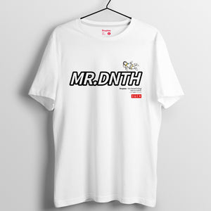 Mr.Donothing HEA上太空 系列 T-shirt 24(黑/白/灰)