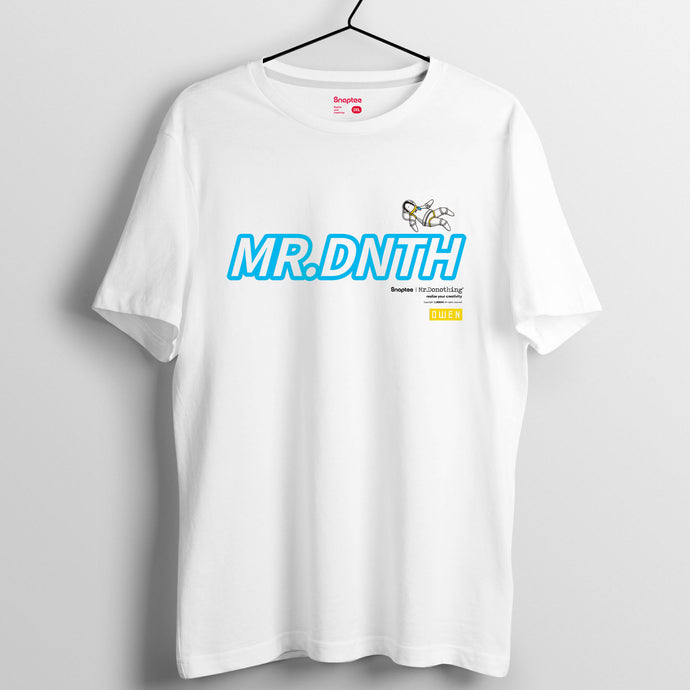 Mr.Donothing HEA上太空 系列 T-shirt 25(黑/白/灰)