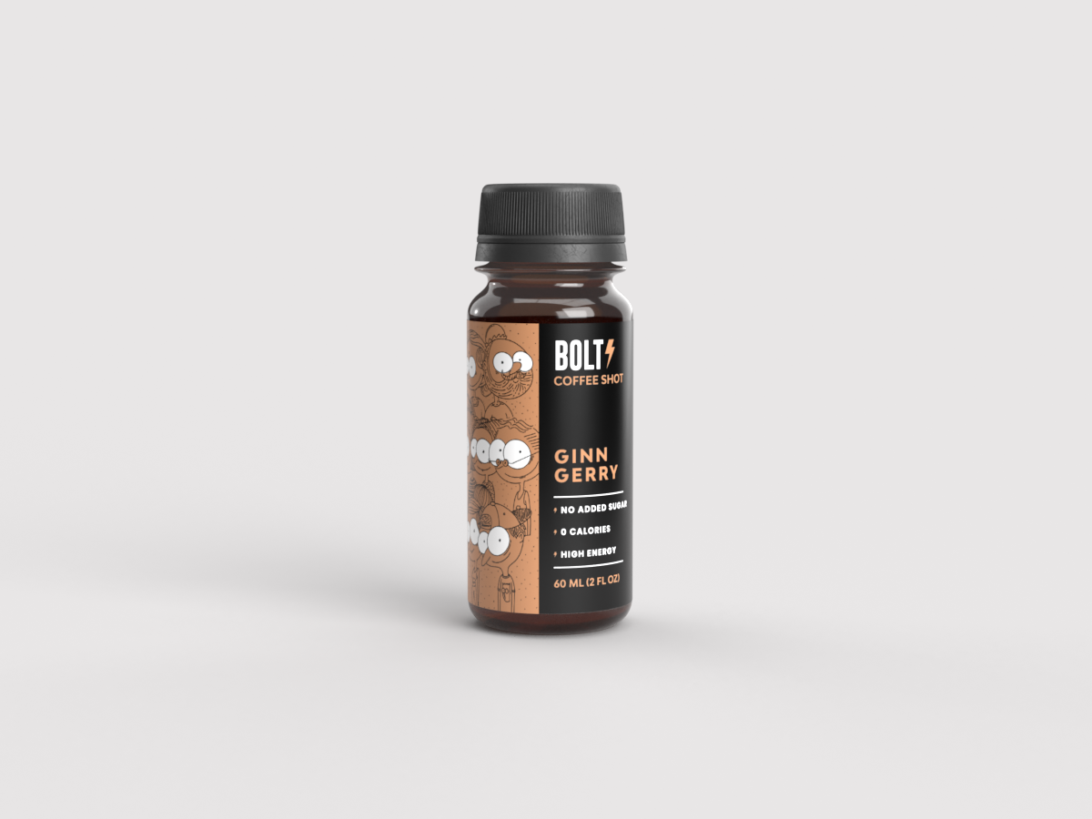 Ginn GerryBolt Cold Brew Coffee Shot