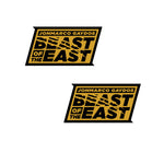 Sticker Pack - Black East Beast (Set of 2)