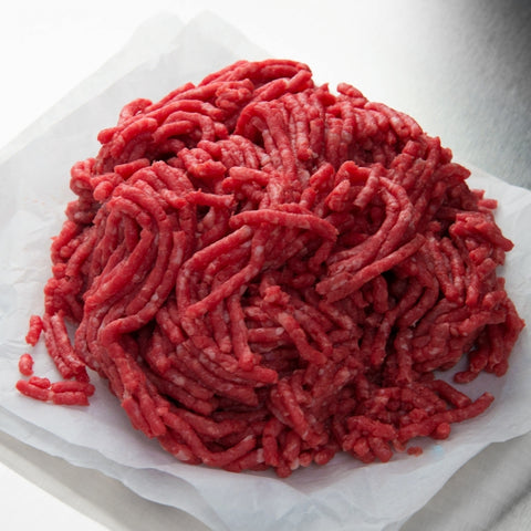 minced skirt beef  5 % fat 1kg