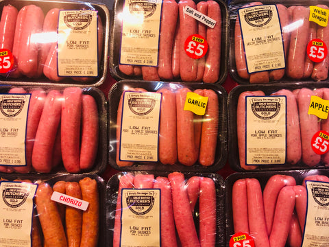 Add on 2 PACKS AWARD WINNING PORK SAUSAGES
