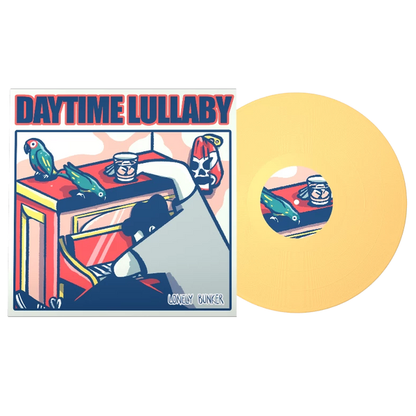 Lonely Bunker - Daytime Lullaby LP on Yellow Vinyl
