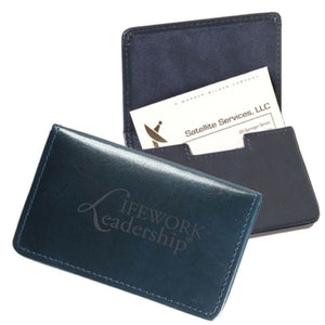 LEATHER MAGNETIC CARD CASE