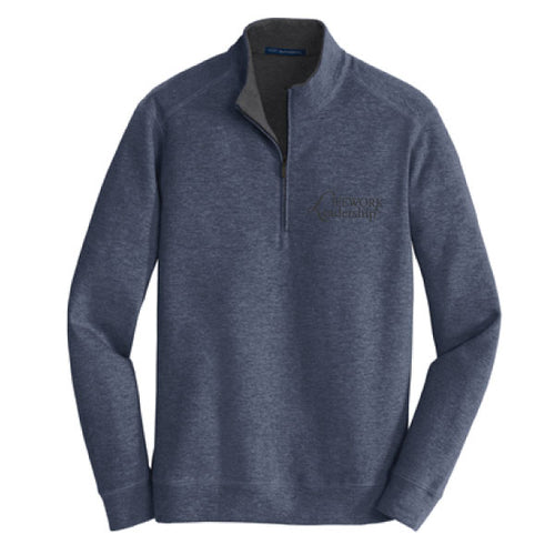 UNISEX INTERLOCK 1/4 ZIP