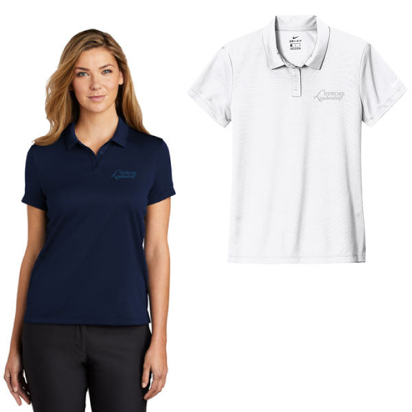 LADIES NIKE DRY ESSENTIAL SOLID POLO