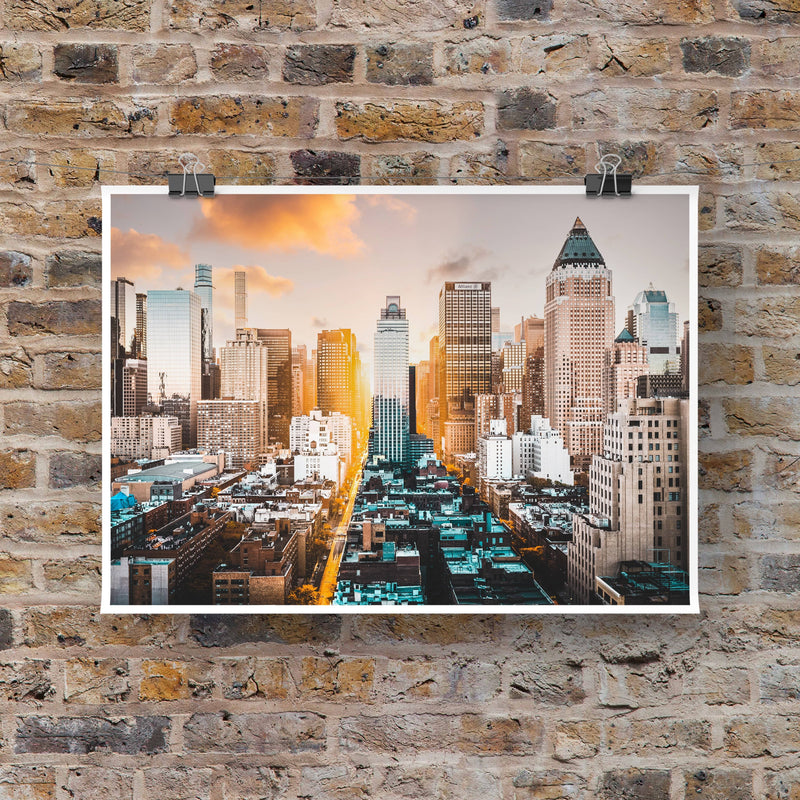 NEW YORK 1663 TOMY TONIO Photographie Tableau Poster