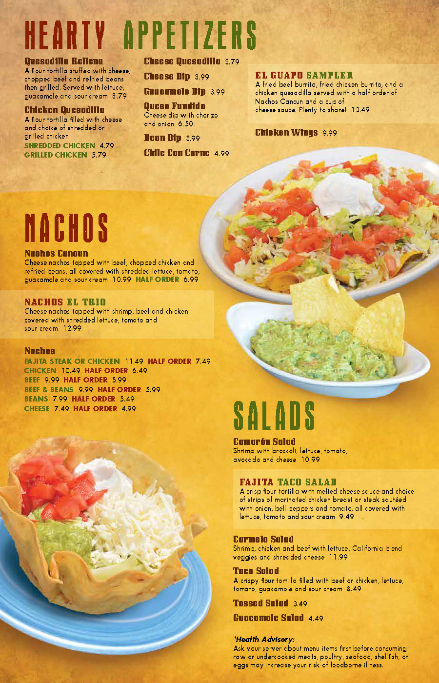 Cancun-Mexican-Grill-Okemos-Dine-In-Menu-Page-2