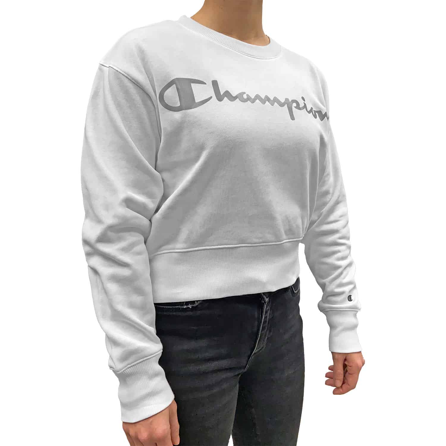 Felpa Corta Big Logo Donna CHAMPION