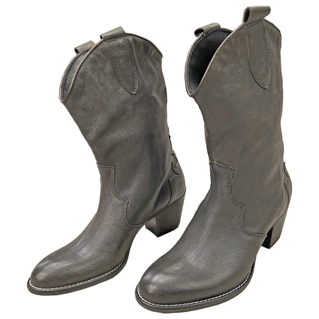 Stivaletto Texano Montone Donna WOW