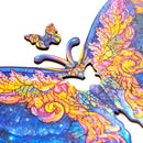 Zenangle Wooden Jigsaw Puzzle -Butterfly