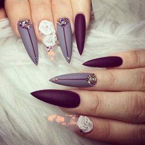 Designer Inspired, Designer Nail Art, Press On Nails, Fake Nails, Glue On Nails