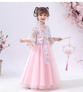 Chinese Style, Cheongsam, Girl Dress, Costume, Birthday Dress
