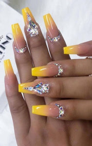 Designer Inspired, Press On Nails, Fake Nails,Glue On Nails, Designer Nails Art