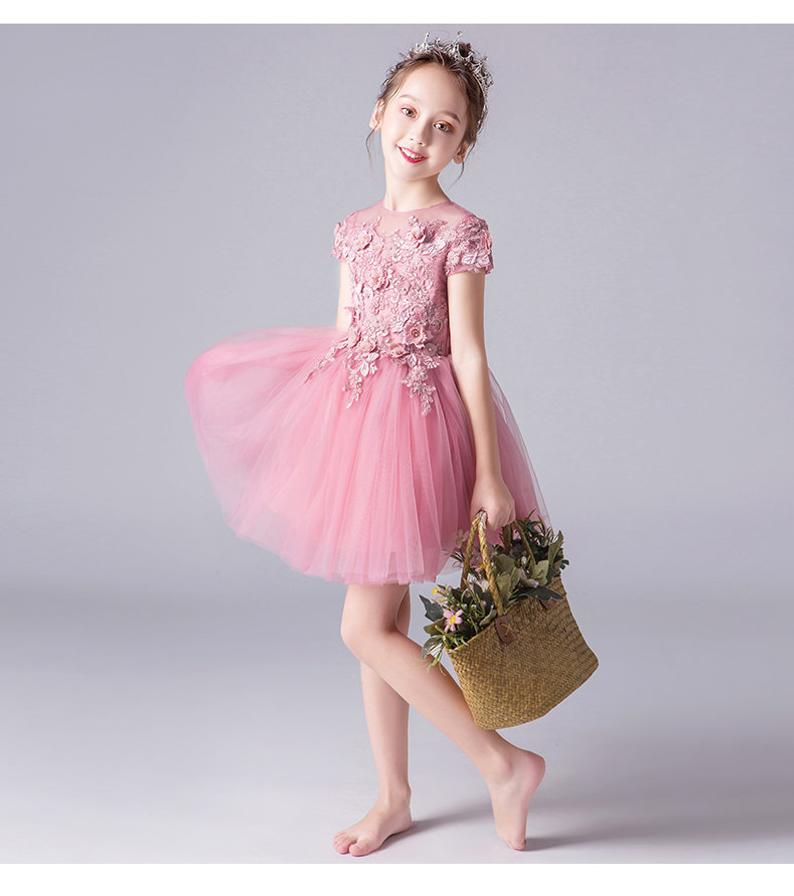 Birthday Dress, Flower Girl Dress, Toddler Dress, Baby Christmas Dress