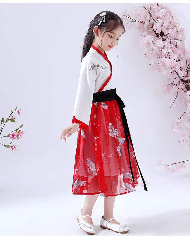 Chinese Style, Hanfu, Girl Dress, Costume, Birthday Dress