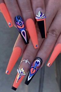 Designer Inspired, Press On Nails, Fake Nails, Glue On Nails, Designer Nails Art
