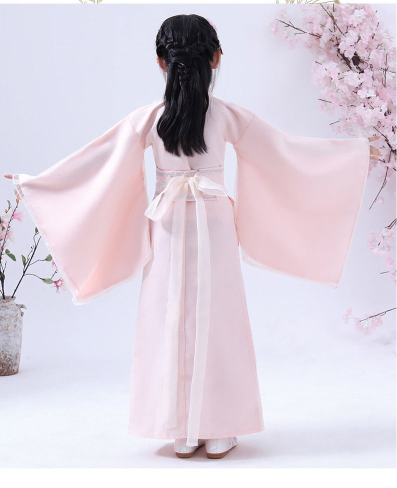 Chinese Style, Hanfu, Costume,Children Costume, Performance Costume, Chinese Dress