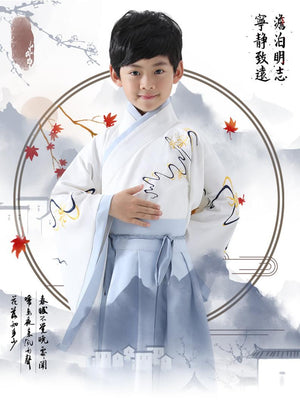 Chinese Style, Hanfu, For Boy, Costume,   Performance Clothes, Chinese Dress