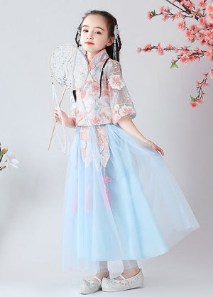 Chinese Style,Costume,Gift Birthday Dress, Flower Girl Dress