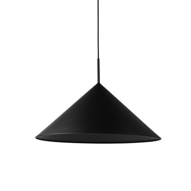 HKliving triangelpendel metall ø 60 cm matt svart-Interior 55