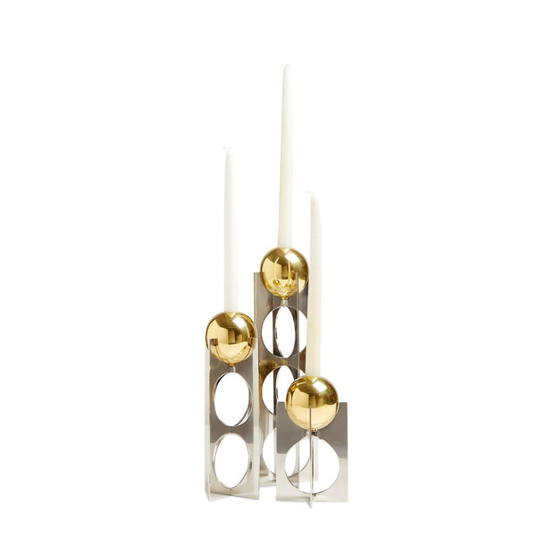 Jonathan Adler Berlin Candle Holder - Medium-Interior 55
