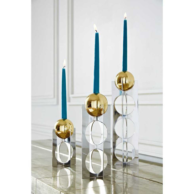 Jonathan Adler Berlin Candle Holder - Tall-Interior 55
