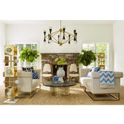 Jonathan Adler Caracas chandelier 16-light-Interior 55
