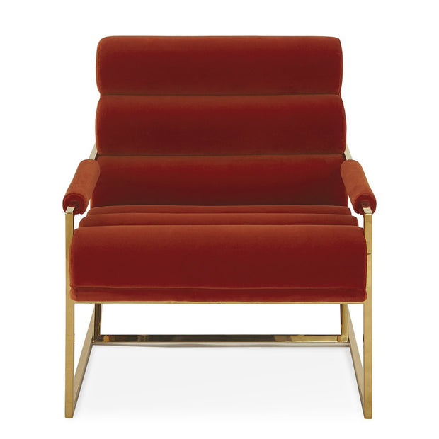 Jonathan Adler Goldfinger Persimmon lounge chair-Interior 55