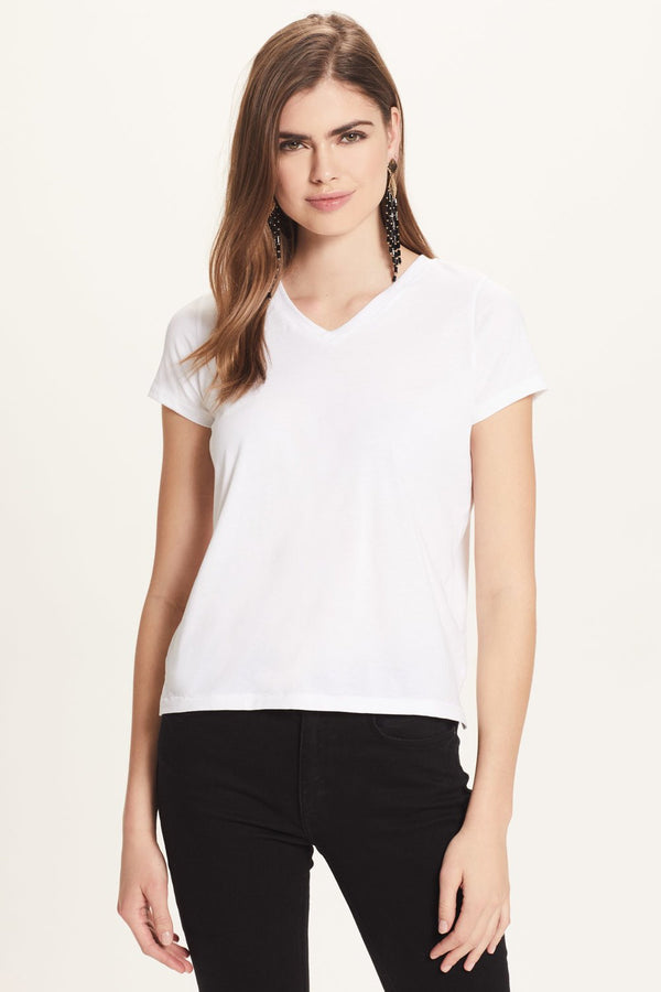 Classic Jersey Boy V Neck Tee - Goldie