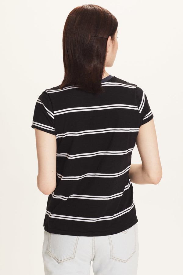 Engineer Stripe Boy Tee - Goldie