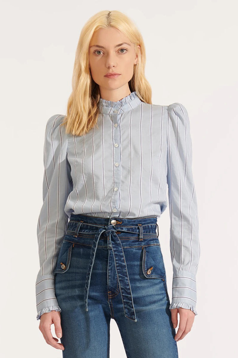 Holli Striped Shirt - Goldie
